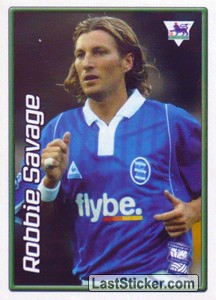 Robbie Savage (Birmingham City) (Derby Days Poster)