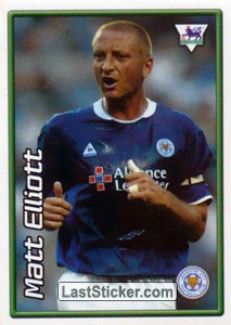Matt Elliott (Leicester City) (Derby Days Poster)