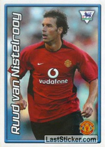 Ruud Van Nistelrooy (Manchester United) (Derby Days Poster)