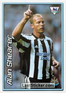 Alan Shearer (Newcastle United) (Derby Days Poster)