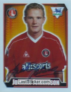 Jonatan Johansson (Charlton Athletic)