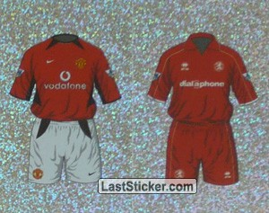 Home Kit Manchester United/Middlesbrough (a/b) (The Kits)