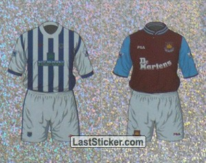 Home Kit West Bromwich Albion/West Ham United (a/b) (The Kits)