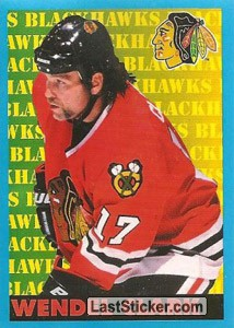 Wendel Clark (Chicago Blackhawks)