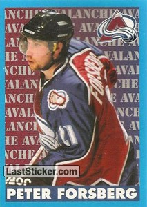 Peter Forsberg (Colorado Avalanche)