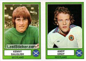 Dalglish(A)/Gray(B) (Scotland)