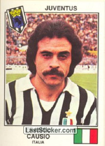 Causio(Juventus) (The Stars of the European Cup 1978-79)