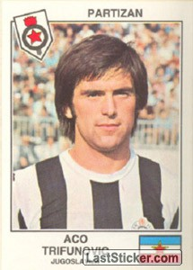 Trifunovic(Partizan) (The Stars of the European Cup 1978-79)