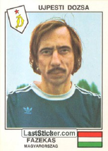 Fazekas(Ujpesti Dozsa) (The Stars of the European Cup 1978-79)