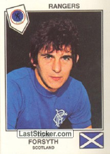 Forsyth(Rangers) (The Stars of the European Cup 1978-79)