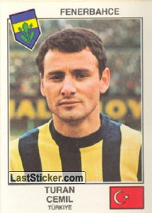 Cemil(Fenerbahce) (The Stars of the European Cup 1978-79)