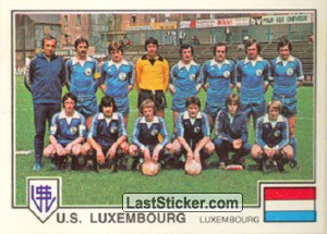 U.S. Luxembourg(Team) (European Cup-Winners Cup)