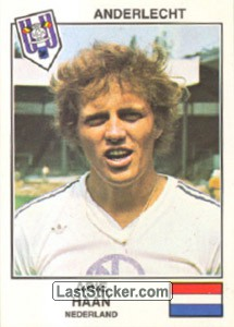 Haan(Anderlecht) (The Stars of the European Cup-Winners Cup 1978-79)