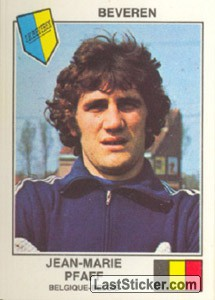 Pfaff(Beveren) (The Stars of the European Cup-Winners Cup 1978-79)