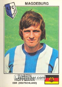 Hoffmann(Magdeburg) (The Stars of the European Cup-Winners Cup 1978-79)