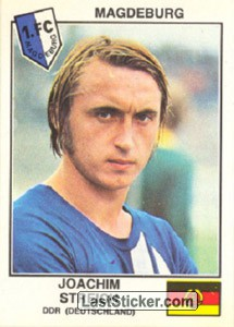 Streich(Magdeburg) (The Stars of the European Cup-Winners Cup 1978-79)