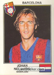Neeskens(Barcelona) (The Stars of the European Cup-Winners Cup 1978-79)
