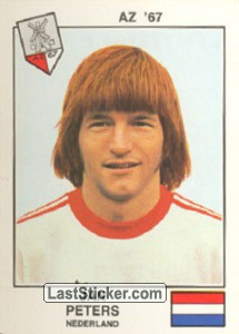 Peters(AZ '67) (The Stars of the European Cup-Winners Cup 1978-79)