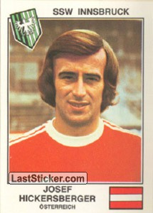 Hickersberger(SSW Innsbruck) (The Stars of the European Cup-Winners Cup 1978-79)