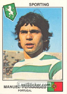 Fernandes(Sporting) (The Stars of the European Cup-Winners Cup 1978-79)