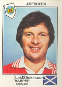 Harper(Aberdeen) (The Stars of the European Cup-Winners Cup 1978-79)