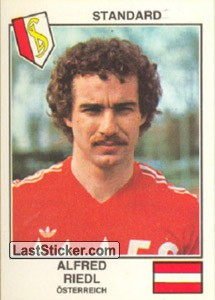 Riedl(Standard) (The Stars of the UEFA Cup 1978-79)
