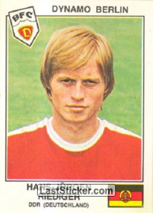 Riediger(Dynamo Berlin) (The Stars of the UEFA Cup 1978-79)