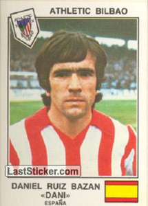 Dani(Athletic Bilbao) (The Stars of the UEFA Cup 1978-79)