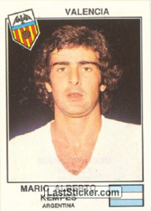 Kempes(Valencia) (The Stars of the UEFA Cup 1978-79)