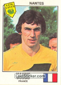 Bossis(Nantes) (The Stars of the UEFA Cup 1978-79)