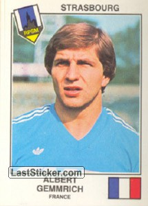 Gemmrich(Strasbourg) (The Stars of the UEFA Cup 1978-79)