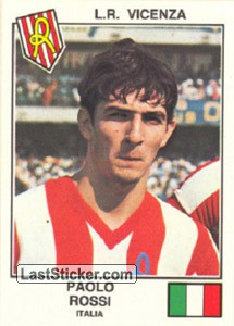 Rossi(Vicenza) (The Stars of the UEFA Cup 1978-79)