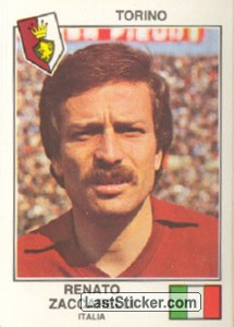 Zaccarelli(Torino) (The Stars of the UEFA Cup 1978-79)