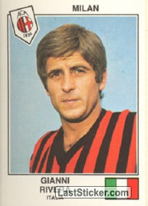 Rivera(Milan) (The Stars of the UEFA Cup 1978-79)