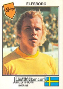 Ahlström(Elfsborg) (The Stars of the UEFA Cup 1978-79)