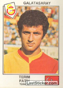Terim Fatih(Galatasaray) (The Stars of the UEFA Cup 1978-79)