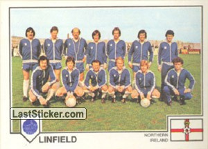 Linfield(Team) (European Cup)