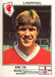 Hughes(Liverpool) (The Stars of the European Cup 1978-79)