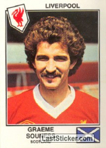 Souness(Liverpool) (The Stars of the European Cup 1978-79)