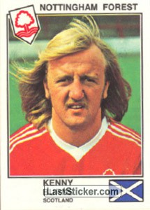Burns(Nottingham Forest) (The Stars of the European Cup 1978-79)