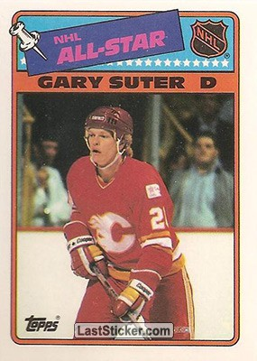 Gary Suter (1987-88 All Stars Game)