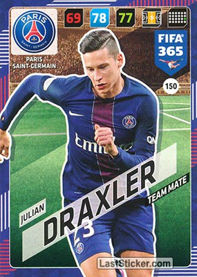 Julian Draxler (Paris Saint-Germain)