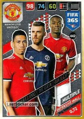 Chris Smalling / David De Gea / Eric Bailly (Manchester United FC)