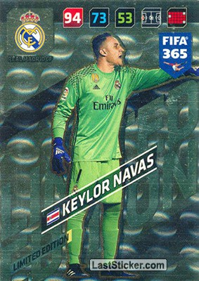 Keylor Navas (Real Madrid CF)