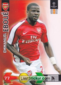 Emmanul Eboue (Arsenal FC)
