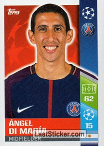 Ángel Di María (Paris Saint-Germain)