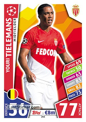 Youri Tielemans (AS Monaco FC)