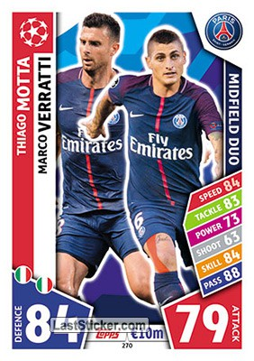 Thiago Motta / Marco Verratti (Paris Saint-Germain)