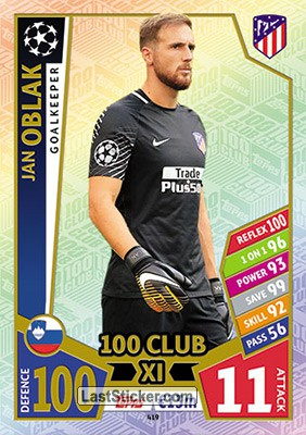 Jan Oblak (Club Atlético de Madrid)