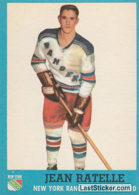 Jean Ratelle (New York Rangers)